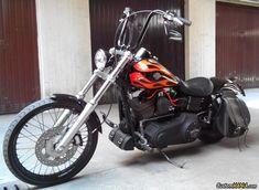 Harley Davidson Dyna FXDWG Wide Glide customized. See more on CustomMANIA.com #harleydavidsondynawide
