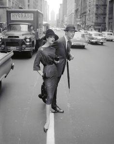Simone Crossing the Street