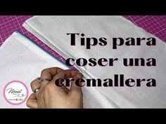 #32 COSE UNA CREMALLERA PASO A PASO/ FÁCIL - YouTube Dressmaking, Youtube, Sewing, Cover, Books, Ideas, Shopping, Sewing Patterns Free, Sewing Projects
