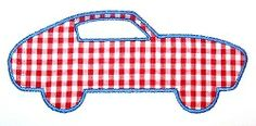 Sports Car Applique - 3 Sizes! | Cars | Machine Embroidery Designs | SWAKembroidery.com Applique Cafe