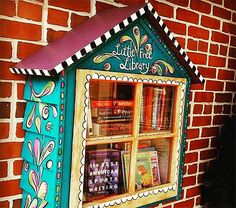DIY: Create Your Own Little Free Library | Designs & Ideas on Dornob                                                                                                                                                                                 More