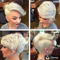 Pretty Ladies' Trendy Short Hairstyles 2016 | http://www.short-haircut.com/pretty-ladies-trendy-short-hairstyles-2016.html
