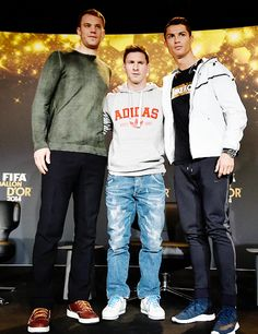 """ FIFA Ballon d'Or 2014 finalists 