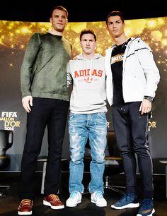 """ FIFA Ballon d'Or 2014 finalists | January 12, 2015 """