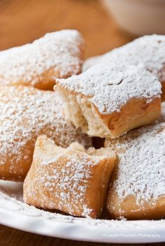 Beignets (French donuts) from Jazz Kitchen at Downtown Disney