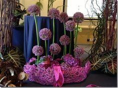 Allium floral design
