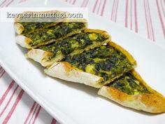 Ispanaklı Peynirli Pide Tarifi - Kevser'in Mutfağı - Yemek Tarifleri