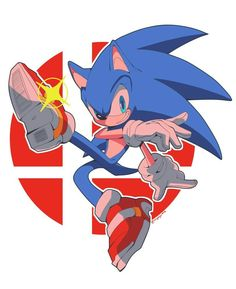 Sonic the Hedgehog - Modern Sonic The Hedgehog, Hedgehog Movie, Shadow The Hedgehog, Sonic Fan Characters, Anime Characters, Sonic Dash, Sonic Unleashed, Nintendo Super Smash Bros, Mundo Dos Games