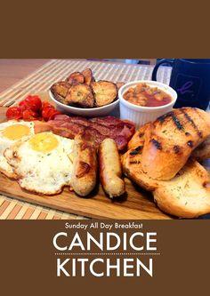 ~CANDICE KITCHEN~自家浪漫美食行: 再續星期天的自家brunch:Sunday All Day Breakfast (附食譜) By L...