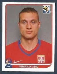 Image result for south africa 2010 panini vidic Fifa World Cup, South Africa, Ms, Soccer, Football, Baseball Cards, Stickers, Image, America's Cup