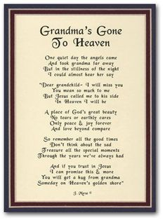 happy birthday quotes for grandma in heaven image quotes, happy birthday quotes for grandma in heaven quotations, happy birthday quotes for grandma in heaven quotes and saying, inspiring quote pictures, quote pictures Missing Grandma Quotes, I Miss You Grandma, Grandmother Quotes, Grandma Poem Funeral, Grandma Quotes Death, Funeral Poems For Grandma, Missing Quotes, Death Quotes, Grandma Birthday Quotes