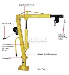 Purchase Pickup Cranes Trailer Crane, Truck Cranes Pick Up Crane, Floor Crane And Pickup Crane At Globalindustrial.Com.