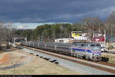 RailPictures.Net Photo: AMTK 184 Amtrak GE P42DC at Buford, Georgia by Nikos Kavoori