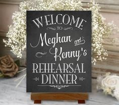 Hey, I found this really awesome Etsy listing at https://www.etsy.com/listing/267906889/rehearsal-dinner-sign-welcome-chalkboard