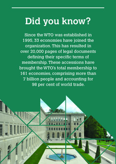 Accessions: Expanding world trade and strengthening WTO rules Learn more>    World Trade, 20 Years, Bring It On, Organization, Learning, Getting Organized, Organisation, Education, Teaching