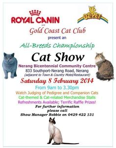 GCCC Cat Show
