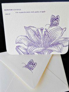 Letterpress by Lydia