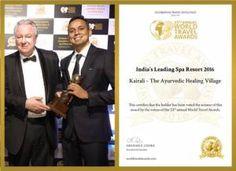 Ayurveda im besten Spa Resort Indiens: World Travel Award 2016 geht an das Kairali Ayurvedic Healing Village Ayurveda, Ayurvedic Healing, Medical Wellness, Eco Friendly Environment, Health Retreat, Wellness Resort, Hotels, Wellness Center, Training Center