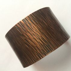 Handcrafted Hammered Copper Cuff
