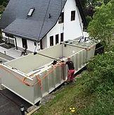 Morgens geliefert und abends in Betrieb! Außerdem industriell gefertigte Pflanzenkläranlagen für häusliches Abwasser