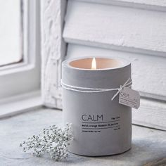 Nordic House CALM Candle Neroli, Orange and Jasmine | Prezola - The Wedding Gift List