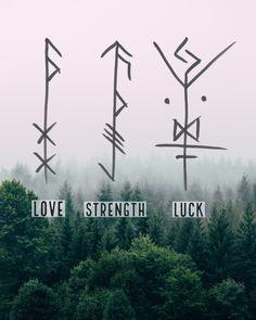 Made by Oreamnos Oddities symbols viking Pagan bindrunes Tattoo Odin, Viking Rune Tattoo, Simbolos Tattoo, Rune Viking, Viking Art, Viking Tattoos, Inca Tattoo, Crow Tattoos, Phoenix Tattoos