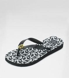 Tory Burch - My favorite flip flops!