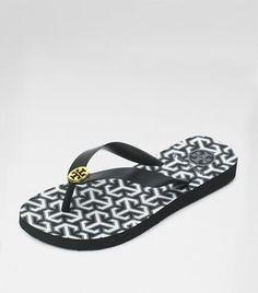 Tory Burch - My favorite flip flops!