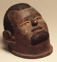 #StandardBank African Collection: Makonde, Mozambique Lipiko mask Wood, hair #SouthAfrica #Art African Masks, African Art, Marlene Dumas, Art Premier, Sculpture, Arts, Contemporary Artists, Dancing, Old Things