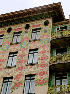 Majolikahaus in Vienna - Otto Wagner