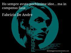 Cartolina con aforisma di Fabrizio De Andre (6)
