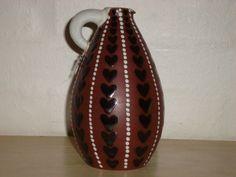 Joska kande/jug. År/year 1940-50s. #Joska #kande #jug #keramik #ceramics #pottery #danishdesign #nordicdesign #klitgaarden. SOLGT/SOLD from www.klitgaarden.net.
