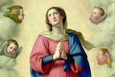 Immacolata Concezione -particolare -del Sassoferrato del Louvre