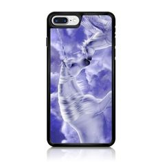 Beautiful Fantasy Unicorns in Clouds iPhone 7 Case
