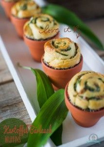 Kartoffel-Bärlauch-Muffins