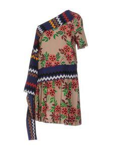 Msgm シルクドレス レディース | YOOXで世界のファッションをオンラインショッピング