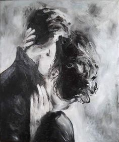 Kiss, oil painting on canvas, lovers, love, two - to buy in the online store at the Fair of the Masters with delivery # kiss # tenderness two # # # love art # kartinamaslom # artist # # canvas picture Kiss Painting, Oil Painting On Canvas, Artist Canvas, Art Romantique, Art Sketches, Art Drawings, Art Amour, Art Du Croquis, Romance Art