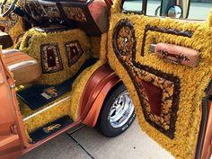 1973 Dodge Custom Van Denny's Dynasty Beast – Amazing Carpet Patterns & Carpet Trends 2020 Customised Vans, Custom Vans, Custom Van Interior, Old School Vans, Dodge Van, Custom Carpet, Vanz, Van Design, Cool Vans