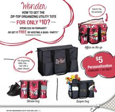 New Thirty One Zip Top Tote Giveaway on Blogging Mom of 4