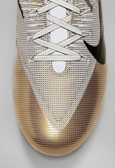 CMF We like / Soe / Gold / Textile / fabric / Mesh / Lines / Nike / at… Nike Football, Football Boots, Baskets, Nike Vapor, Chanel, Texture Design, Textures Patterns, Sneakers Fashion, Nike Sneakers