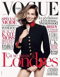 Daria Werbowy for Vogue Paris