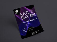 Saturday Bass Events | Marylaure Gander – Portfolio