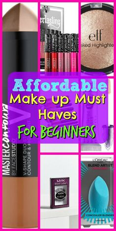 Absolute Best & Most Budget Friendly Makeup Starter Kit Must Have Makeup Items For Beginners. Learn How To Beat Your Face To The Gods.Must Have Makeup Items For Beginners. Learn How To Beat Your Face To The Gods. Makeup Essentials For Beginners, Beginner Makeup Kit, Makeup Tutorial For Beginners, Basic Makeup For Beginners, Makeup Trends, Makeup Hacks, Skin Care Routine For Teens, Makeup Starter Kit, Natural Makeup Tips