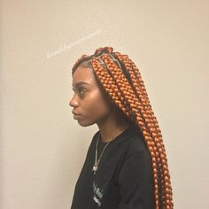 """MADE BY A YOUNG HAIR ARTIST 183 Likes, 12 Comments - Jordin 18 yr. old stylist (@braidsbymuva.amor) on Instagram: """"Jumbo Box Braids """"Butt Length'✨✨#tuckgamestrong #tuckgameonpoint"""""""