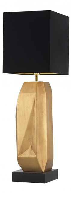 Gold Table Lamp | Find more amazing lighting http://www.bocadolobo.com/en/products/lighting.php