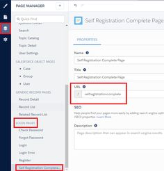 How to create page in Salesforce Community Builder for Community Register confirm? -  1. Create a Custom Page under Login Pages in Salesforce Community Builder. Copy the URL.  2. Paste the URL as mentioned below. Once the user completes the Community Registration he/she will be redirected to the Custom Page.  Cheers!!!