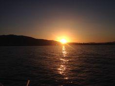Sea side Sunset