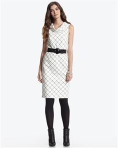 sheath dress + ankle boots + work - Google Search