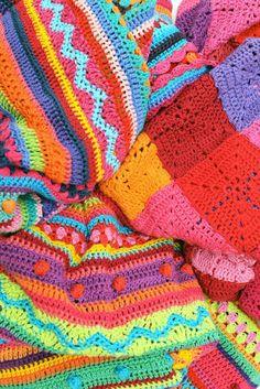 Crochet blanket 2014 By Ingrid de Vries