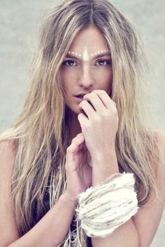 Tribal Inspired Makeup / Wedding Style Inspiration / LANE